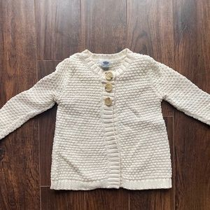 Girls Cable Knit Sweater by Old Navy | Size 5T